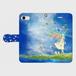 iPhone7 リナリア手帳型スマホケース