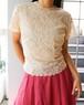 60's lace blouse