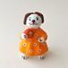 ディムコボ土人形 / ボール遊びをしたい子犬(箱付き)