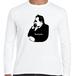 ニーチェ ドイツ 哲学者 歴史人物ロングTシャツ030
