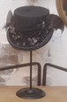 トップハット(ブラックペイント×コウモリ)
