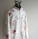 [NATIONAL GEOGRAPHIC] フローラル&ボタニカル刺繍 インド綿 チャイナジャケット オフホワイト 表記(women's S)