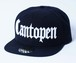 2018 Cantopen Snap Back Cap Black x White