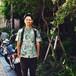 Mountain Men's / ボタンダウンアロハシャツ  / ブレッドフルーツ / Green