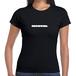 wachachum women's Logo T Black