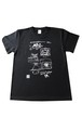 Tシャツ「大阪オクトパス2016」~浪花節だよプロレスは~オープニングアクト絵コンテTシャツ