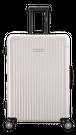 Lサイズ☆ナッシュビル乳白色BNA・90リットル:超軽量!旅ガールにオススメスーツケース