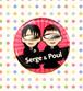 バッジ(32mm)セルジュ&ポール
