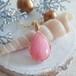 【二人展・実りと恵み】〈女神巻き®〉ピンクオパールのペンダントトップ