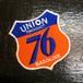 70's 76 UNION Vintage Patch  セブンティシックス フィリップス66 ユノカル社 ビンテージ gasoline ガソリンスタンド テキサス
