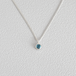 London Blue topaz necklace