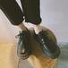 レディース 革靴 ローファー オックスフォード おじ靴 ラウンドトゥ レースアップ 厚底 合皮 革 黒 ブラック 茶 ブラウン 春秋 かわいい おしゃれ 韓国