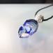 ゆらめく宇宙のガラスペンダント/【宇宙の鉱石、試作、わけあり品】00302-3