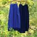 ナチュラルコットン藍染かさねスカート