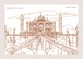 postcard-Ryuta Sasahara-Taj Mahal