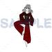 踊る茨木童子のイラストpng(1200×1200pixel)×カラー+単色2点