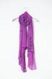 「糸」103-x.x  stole  #violet