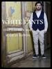 透けないお洒落な白パンツ! メンズ ストレッチピケ素材 日本製トラウザーズ  ホワイト