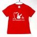 【キッズ】積分サイトウサンTシャツ 130cmレッド