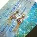 もふぷらむ。【レジン】 39 和柄蝶のゆらゆらピアス(紫)
