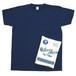 Velva Sheen/ベルバシーン 2パックTシャツ クルーネック ポケット付 WHITE×NAVY