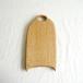 カッティングボード 小 (ナラの木) エゴマ油仕上げ (25×13.3)
