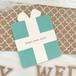 【席札&Menuカード】Tiffany タイプ  10枚セット