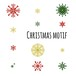 クリスマスモチーフ Christmas motif 0044-A
