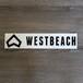 Westbeach新ステッカー 大サイズ A(ダイカット)Black