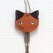 【送料無料】猫の本革キーカバーM KCM103