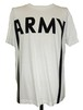 ARMY SHORT SLEEVES -WHITE-