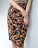FENDI flower design skirt