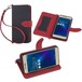 Asus zenfone3 ZE520KL ケース手帳型 カバー スタンド機能 カードホルダー ストラップ付 sim free 対応  安心保証付