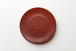 フラットプレート 赤釉 akayu(28cm)
