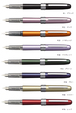 プラチナ万年筆:プレジール