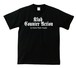 KLUB COUNTER ACITON OFFICIAL T-SHIRT : 1(黒ボディー) ホワイトプリント