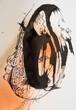 ◆女房自慢【根本敬B6ドローイング&コラージュ】※清山飯坂温泉芸術祭に展示中
