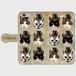 ハット×猫 手帳型スマホケース