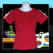 90sヴィンテージストレッチTシャツ(デッドストック) for lady