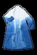 藍染コーデュロイグラデーションローブコート