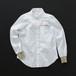 レディス 2wayシャツ 白×羊+P