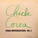 CHICK COREA - Piano Improvisations Vol. 2