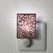 伊勢型紙のナイトランプ 【アラベスク】RED