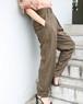rayon pegtop pants with belt