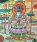 聖緑珠観音菩薩 (肉筆画)
