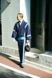 きもの / 片貝木綿 / One line / 鰹縞(WIth tailoring)