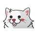 チンチラ(大)     猫ステッカー