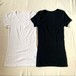 Joha | MARIE ウール半袖タイプ(White/Black)