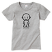 IDEAS/アイコンTシャツ 700W-GR-レディース