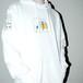 『SAU』 Softener hoodie white